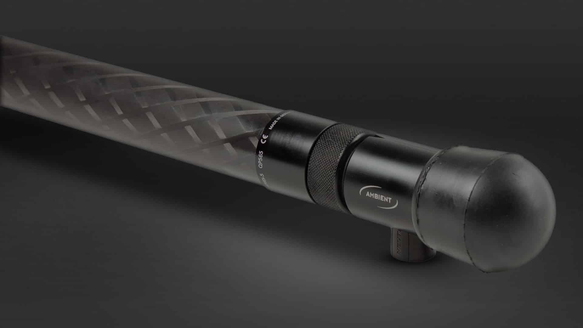 Quickpole Series 5 Fußende Schrägansicht im Detail